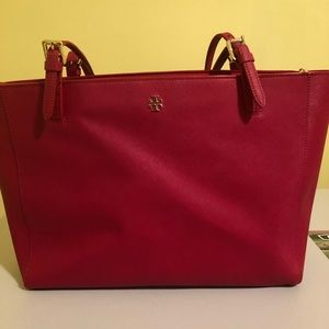 Tory Burch York Large Saffiano Tote